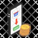 Mobile Shopping Online Shopping Eshopping Icon