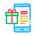 Online Shopping Phone Icon