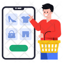 Shopping App Online Shopping Online Products Icon
