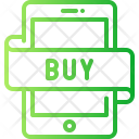 Mobile Shopping Account Icon