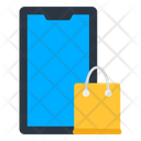 Mobile Shopping Mobile Purchase Ecommerce Icon