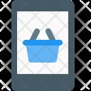 Mobile Shopping Wishlist Icon