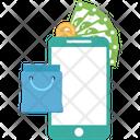 Mobile Shopping Mobile Shop Mobile Store Icon