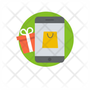 Mcommerce Mobile Shopping Buy Online Icon