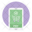 Mobile Shopping App Icon
