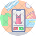 Mobile Shopping App Mobile App Shopping App Icon