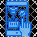 Smartphone Hand Screen Icon