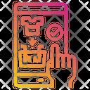 Mobile Shopping App Icon