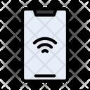 Mobile Internet Signal Icon
