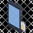 Mobile Sim Mobile Card System Identity Module Icon
