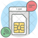 Mobile Sim Icon