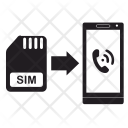 Mobile Simcard Sim Icon