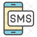 Mobile SMS Icon