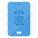 Mobile Software Coding Icon