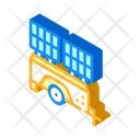 Mobile Solar Battery Icon