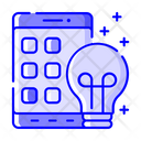 Mobile Solutions Phone Solution Online Solution Icon