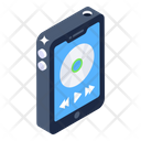 Mobile Media Player Mobile Songs Audio Music Icon