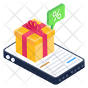 Mcommerce Online Shopping Mobile Special Offer Icon