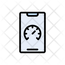 Mobile Speed Internet Icon