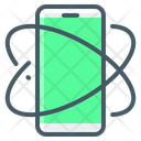 Stabilization Rotation Mobile Icon