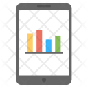 Mobile Statistics App Icon