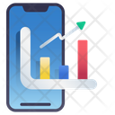Mobile Stock Chart Icon