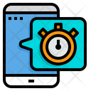 Mobile Stopwatch Stopwatch Time Icon