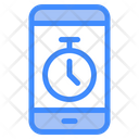 Mobile Stopwatch Stopwatch App Icon