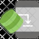 Mobile Storage Mobile Database Phone Server Icon