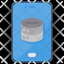 Storage Smartphone Data Icon
