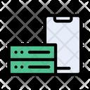 Mobile Server Storage Icon