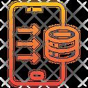 Server Smartphone Service Icon