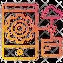 Data Smartphone Network Icon