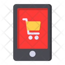 Mobile Store Online Icon