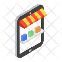 Online Order Mobile Shop Mobile Store Icon