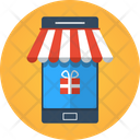 Mobile Store Store Online Icon