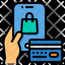 Mobile Store Credit Card Smartphone Icon