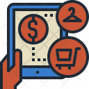 Store Mobile Shopping Icon