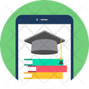 Mobile Study Phone Icon