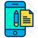 Mobile Study Note Icon