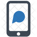 Mobile Text Chat Icon