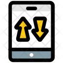 Mobile surfing Icon