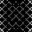Arrows Smartphone Recycle Icon