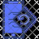 Mobile Sync Phone Sync Icon