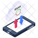 Ccloud Data Transfer Cloud Backup Mobile Synchronization Icon