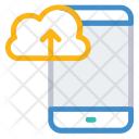 Mobile synchronize to cloud Icon
