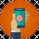 Mobile Target Target Goal Icon