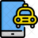 Mobile Taxi Application Icon