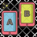 A B Testing Icon