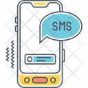 Mtext Messaging Mobile Text Message Text Icon